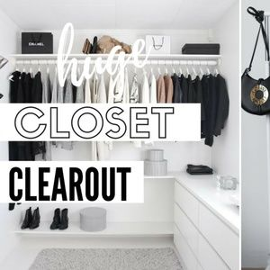 HUGE Closet Clearout!